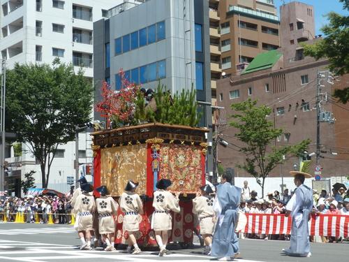 自転車の 自転車 レンタル 京都 四条 : 山鉾巡航 観覧 その1 - 京都 ...